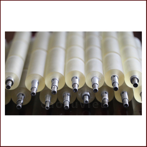 Rubber Covered Rollers | Rubber Roller Grinding