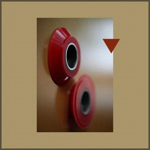 Rubber polyurethane parts