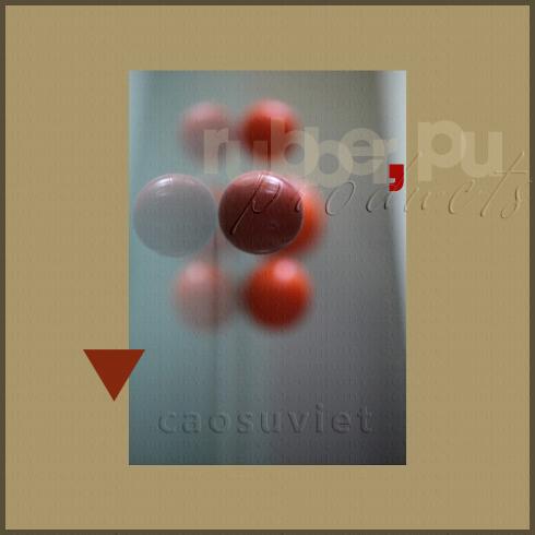 Viên bi cao su silicone được sử dụng nhiều trong ngành