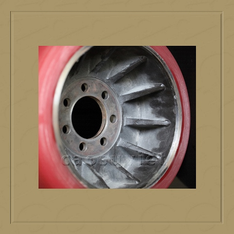 Forklift parts PU wheel  | Polyurethane and rubber wheels